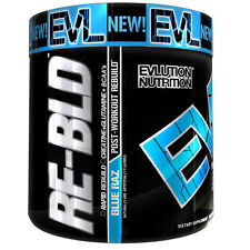 EVL Nutrition RE-BLD Blue Raz Post Workout Recovery (30 Servings) (Best By 6/17)