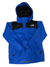 The North Face Boy's Blue & Black Hyvent Full Zip Ski Hooded Shell Jacket Large