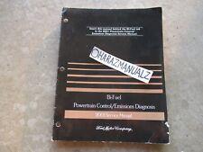 2001 Ford Bi Fuel Powertrain Control / Emission Diagnosis Service Manual OEM