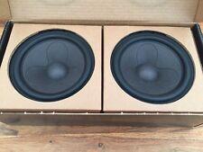 Abbinato Coppia di scanspeak 18WU/4741T00 mid/Bass speaker Driver-Nuovo di Zecca