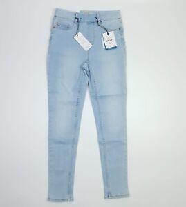 New Look Light Blue Emilee Lift & Shape Skinny Leg Jeggings UK 8 SHORT EU 36