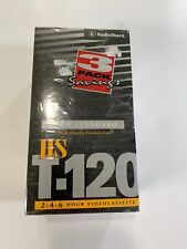 [3 Pack] Radio Shack HS T-120 VHS Tapes HIGH STANDARD, 6 Hours Max NEW