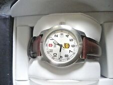 VICTORINOX SWISS ARMY DATE UPS LADIES WATCH NEW IN BOX.  Free Watch Included