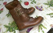 """Timberland 8"""" Double Strap Boot Womensin Boot- size 9 dark brown"""