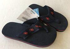 NWT Gymboree Salt Washed Sz 9/10 Navy & Red Lobster Flip Flop Sandals