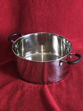MINT WEAR EVER STAINLESS STEEL 5 QUART STOCK POT/DUTCH OVEN WITH NO LID