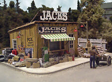 BAR MILLS 542 HO Jack's Backyard New & Used - Laser Cut Kit - MODELRRSUPPLY-COM