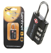 Combination Solid USA TSA Approved Black Padlock Travel Luggage Suitcase Lock