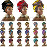 Women's Turban Stretch Knit Head Wrap Hair Cotton Scarf Tie Chemo African