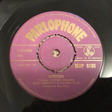 Boyd Bennett SEVENTEEN / LlTTLE OLE YOU ALL 45RPM Parlophone Record MSP 6180