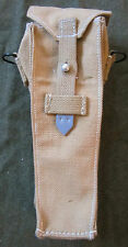 WWII GERMAN WAFFEN ARMY ARMY K98 RIFLE GRENADE CARRY BELT POUCH-CANVAS