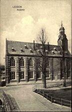 LEIDEN alte AK Holland Leyden Academie um 1910 Niederlande Postkarte