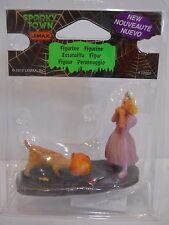 lemax halloween spooky town Village accessory figure figurine candy thief dog