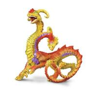 2-Headed Dragon ~ Safari Ltd # 10144 ~ Hydra mythical fantasy toy figure