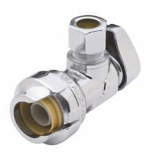 SHARKBITE 1/2 In.SB X 3/8 In. OD Quick Connect Angle Valve