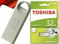 HIGH SPEED 32GB USB 2.0 Memory Stick USB Flash Pen Drive Toshiba TransMemory UK