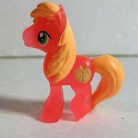 "2013 My Little Pony FiM Blind Bag Wave 8 2"" Transparent Neon Big McIntosh Figure"