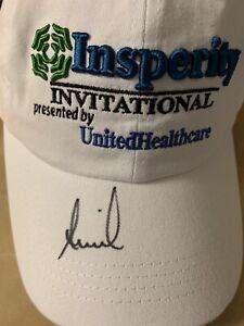 Annika sorenstam Signed Golf Hat