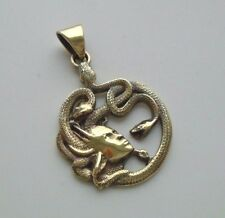 NEW EXCLUSIVE PENDANT MEDUSA GORGON HEAD Brass Necklace Medallion