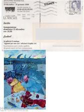 FRANCOBOLLO AFFRANCATO LA DONNA NELL'ARTE 0,23 (450LIRE) 1999 CON CARTOLINA
