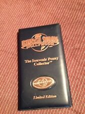 UNIVERSAL STUDIOS HOLLYWOOD LIMITED EDITION PRESSED PENNYCOLLECTOR BOOK!