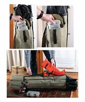 Fishing Rod Pole Reel Tackle Tools Gear Carry Case Organizer Storage Travel Bag