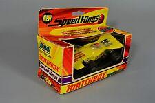 R&L Diecast: Matchbox K34 Speed Kings Thunderclap V8 Racing Car Boxed Yellow
