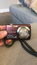 Nikon COOLPIX S220 10.0MP Digital Camera - Plum