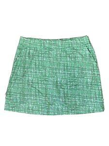 SPORT HALEY Golf Skort Skirt Women's Size XL Green