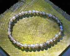 Transformation Crystal - AA Grade Labradorite Gemstone Beads Bracelet Wrapped