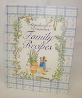 New Grandmother Remembers: Family Recipes - A Journal Cook Book by Judith Levy