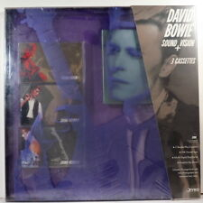 DAVID BOWIE - Sound + Vision > 1989 3 cassette Ryko comp. Box Set < FAC SEALED