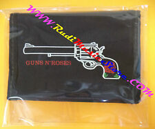 PORTAFOGLIO Wallet GUNS N'ROSES NERO BLACK 10x14 cm no *cd dvd lp mc vhs