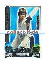 Force Attax Movie Cards Serie 3 - LE1 - LUKE SKYWALKER - Limitierte Auflage