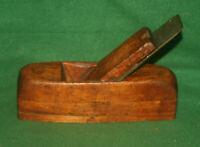"Great User Antique Vintage English Coffin 2"" Block Smoothing Plane Inv#JU25"