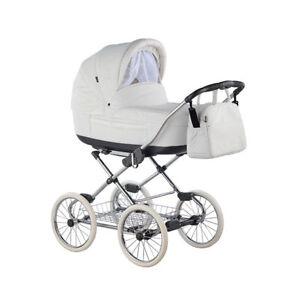 Premium Classic Roan Marita S-150 Baby Pram Retro Stroller Pushchair Buggy