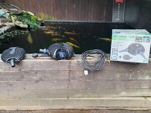 OASE Aquamax Eco 12000 Koi Fish Pond Water Garden filter waterfall Pump 200 Watt