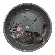 Chin Sprint All-Metal Exercise Wheel (Black) - Chinchilla Prairie Dog Rat Degu