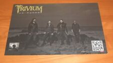 Trivium In Waves Do I End This All for the World to See Promo 2011 Poster 11x17