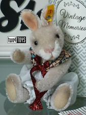 STEIFF VINTAGE MEMORIES RICK THE RABBIT - 16cm/ 6.4in. EAN 026843 BRAND NEW 2018