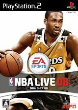 USED PS2 PlayStation 2 NBA Live 08 08091 JAPAN IMPORT