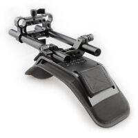 CAMVATE Shoulder Pad Mount Rod Clamp Kit for 15mm Rail Rig for DLSR Camcorder