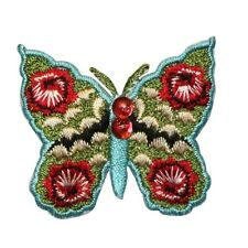 ID 2183 Butterfly Insect Embroidered Iron On Applique Patch