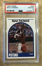 1989 Hoops #250 Isiah Thomas PSA 10