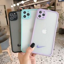 Fashion Color Border Nike Logo Phone Case Cover For iPhone11ProMax 7 8+ XR XsMax
