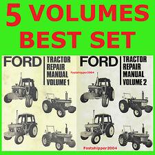 Ford 5600 6600 6700 7600 7700 2600 Tractor Shop Service Manuals Operators Parts