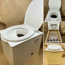 The Angel 'Floozy' Compost Composting Toilet for Boats and off-grid living