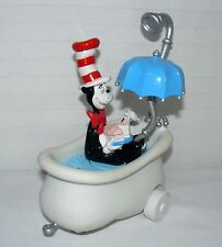 DR.SEUSS E.R.T.L MOTION MOBILES CAT IN THE HAT IN BATH TUB PUSH AND SPIN TOY 9X7
