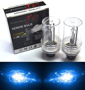 HID Xenon D4R Two Bulbs Head Light 10000K Blue Replacement Low Beam Plug Play OE