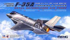 Meng 1/48 Royal Netherlands  Lockheed Martin F-35A Lightning II Fighter